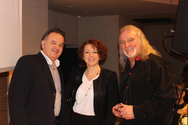 160217 Avec Guylaine Léori & Roland Romanelli - Sacem Hommage Yvette Horner -057