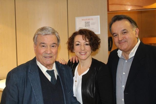 160217 Avec Guylaine Léori & Marcel Azzola - Sacem Hommage Yvette Horner -061