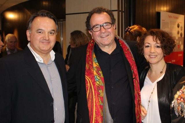 160217 Avec Guylaine Léori & Richard Galliano - Sacem Hommage Yvette Horner -062